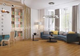 Chọn sàn gỗ công nghiệp vân sần hay vân bóng